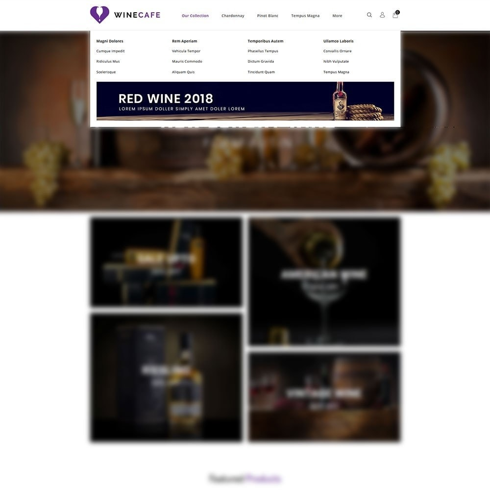 theme - Getränke & Tabak - Winecafe - The Wine Store - 8