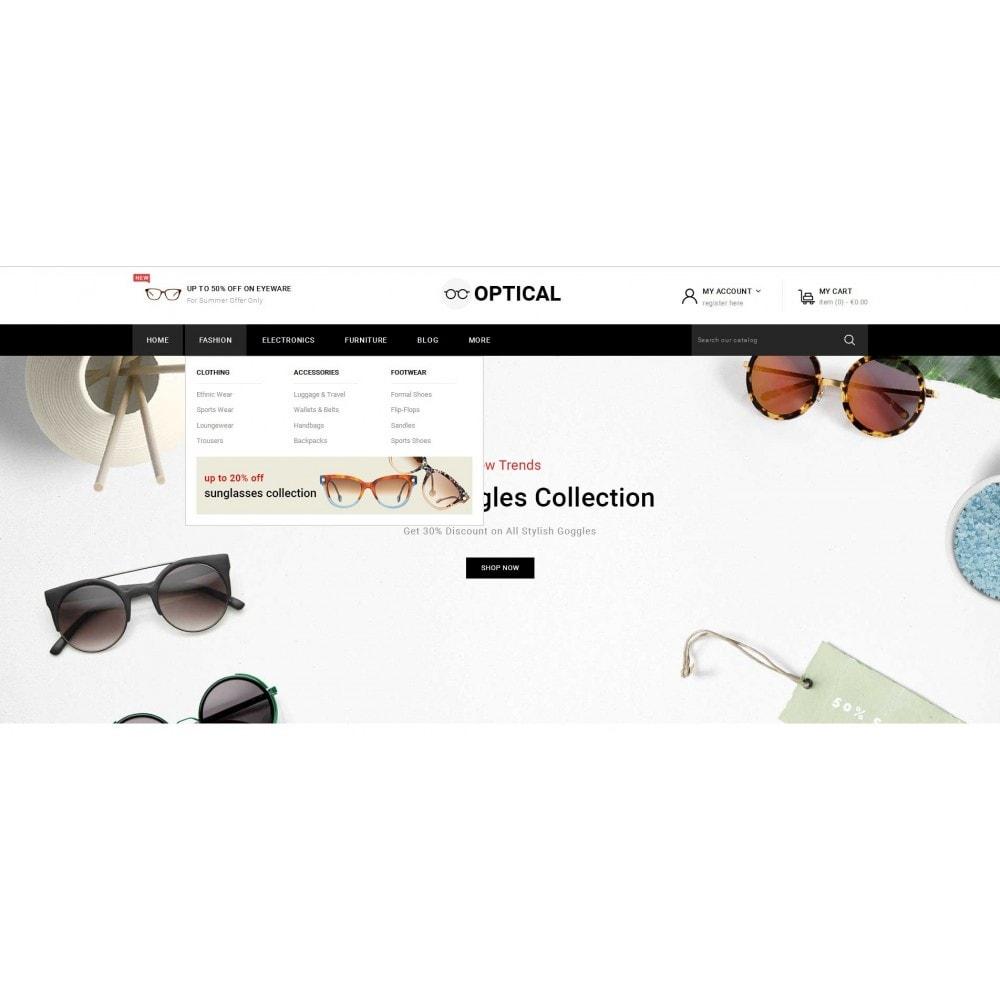 theme - Ювелирные изделия и Аксессуары - Optical - Goggles Store - 6