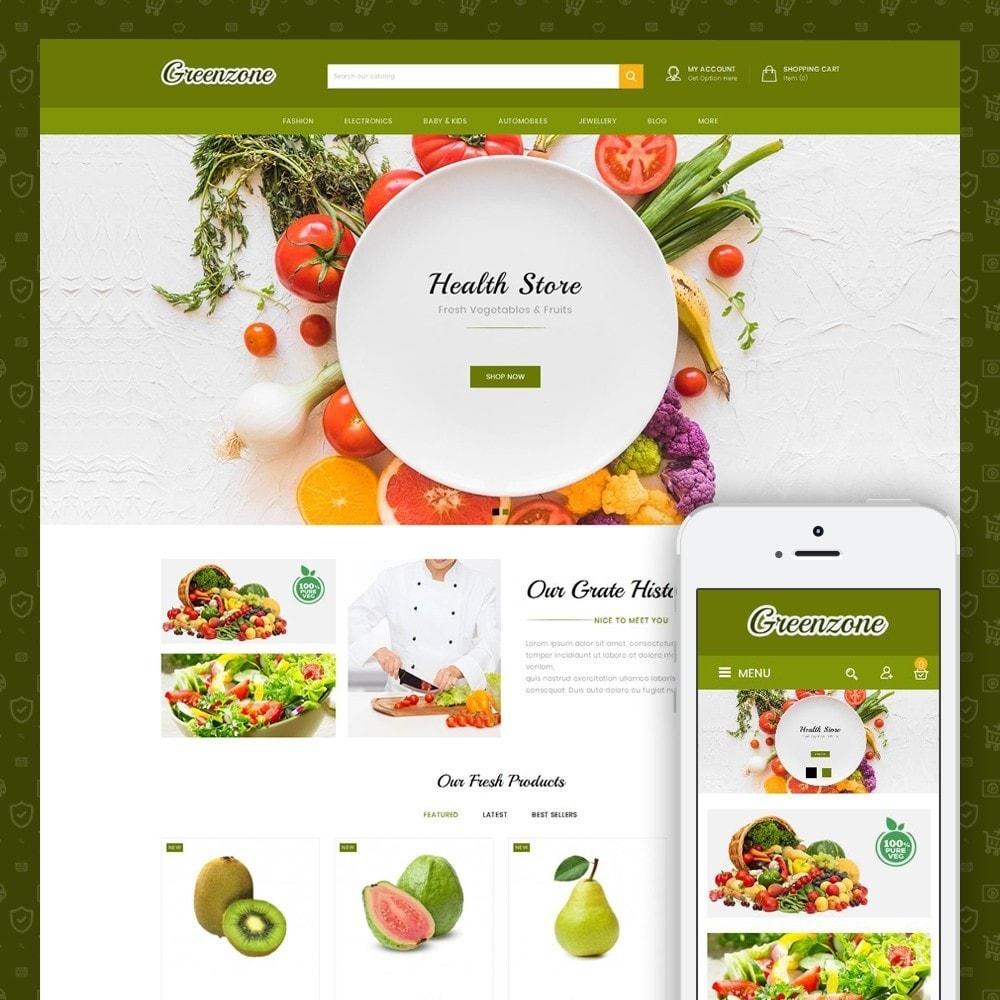theme - Food & Restaurant - GreenZone - Organic Store - 1