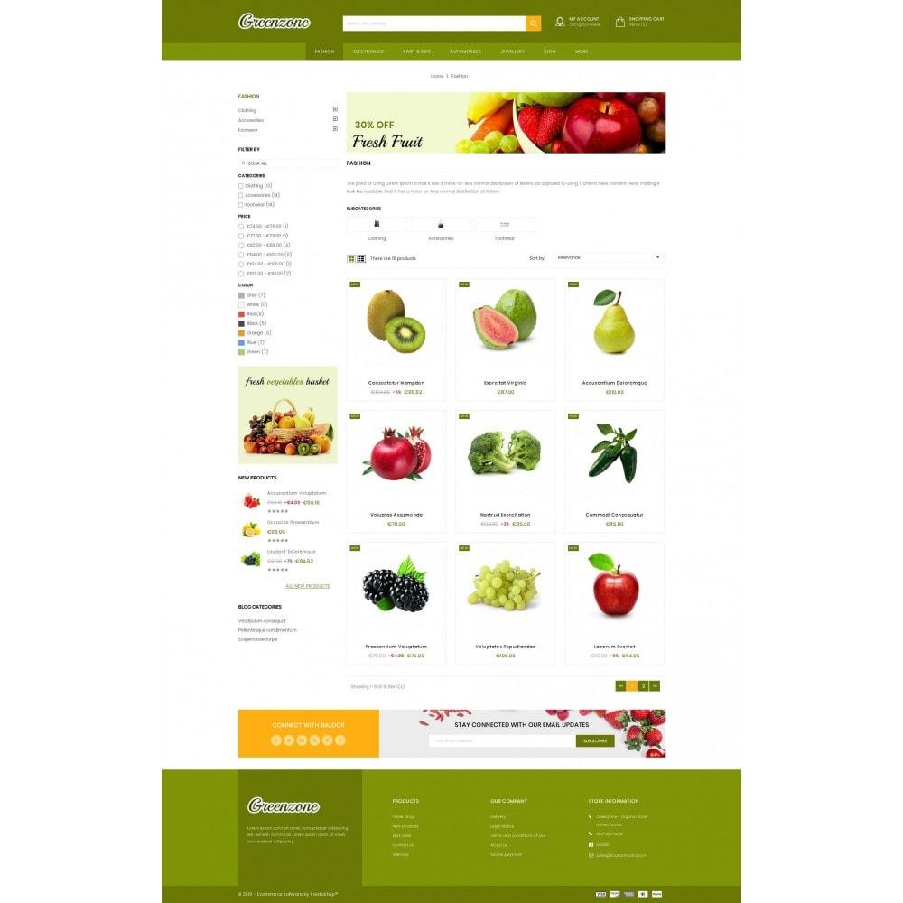 theme - Food & Restaurant - GreenZone - Organic Store - 3