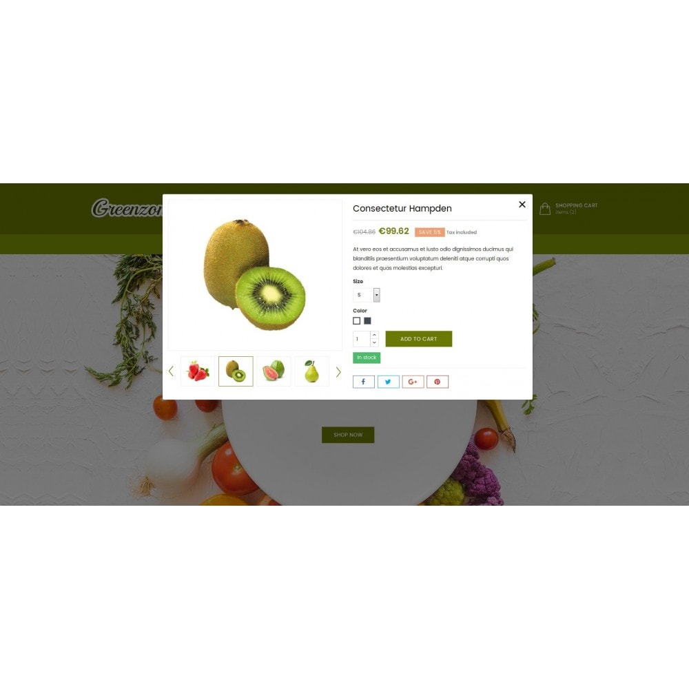 theme - Food & Restaurant - GreenZone - Organic Store - 6
