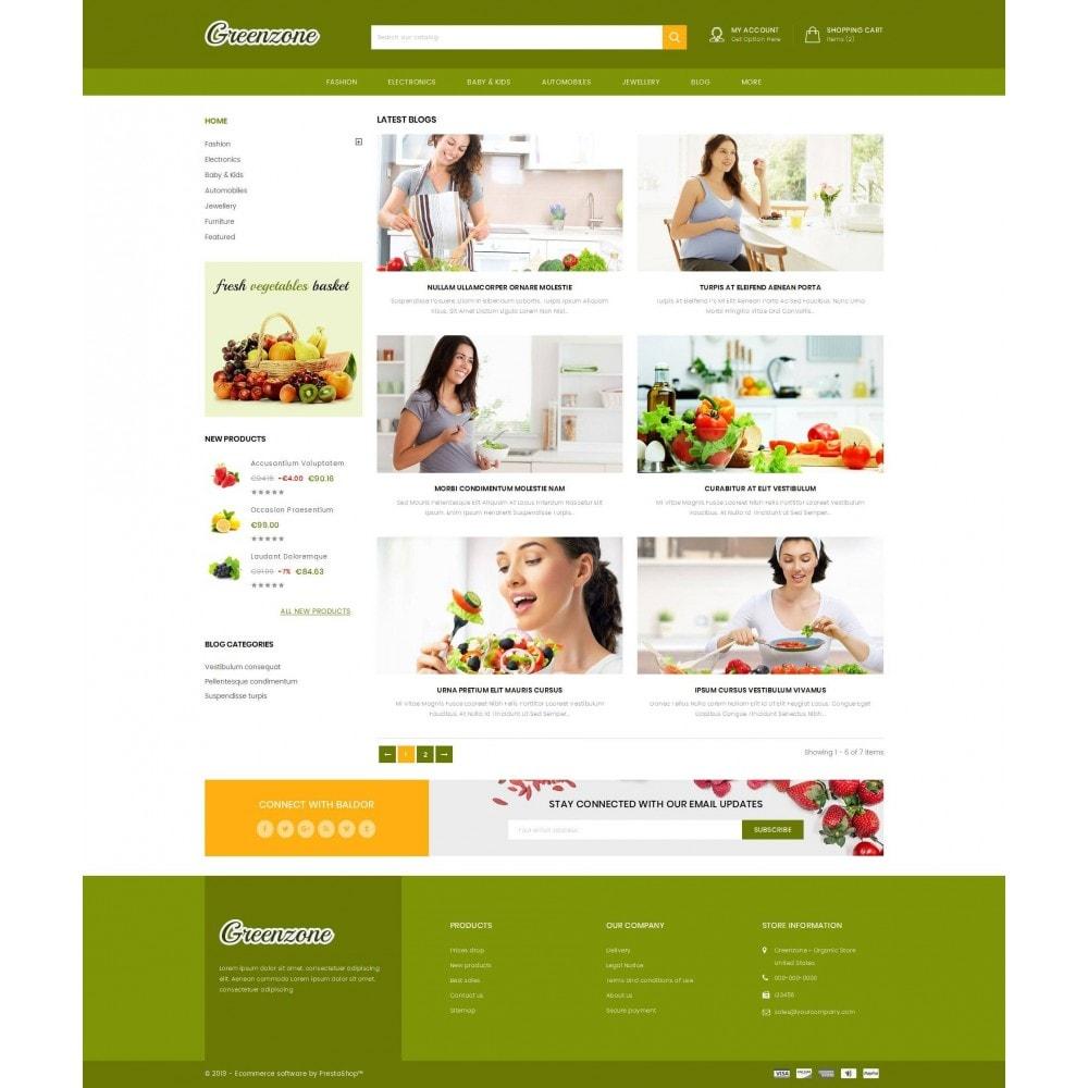 theme - Food & Restaurant - GreenZone - Organic Store - 9