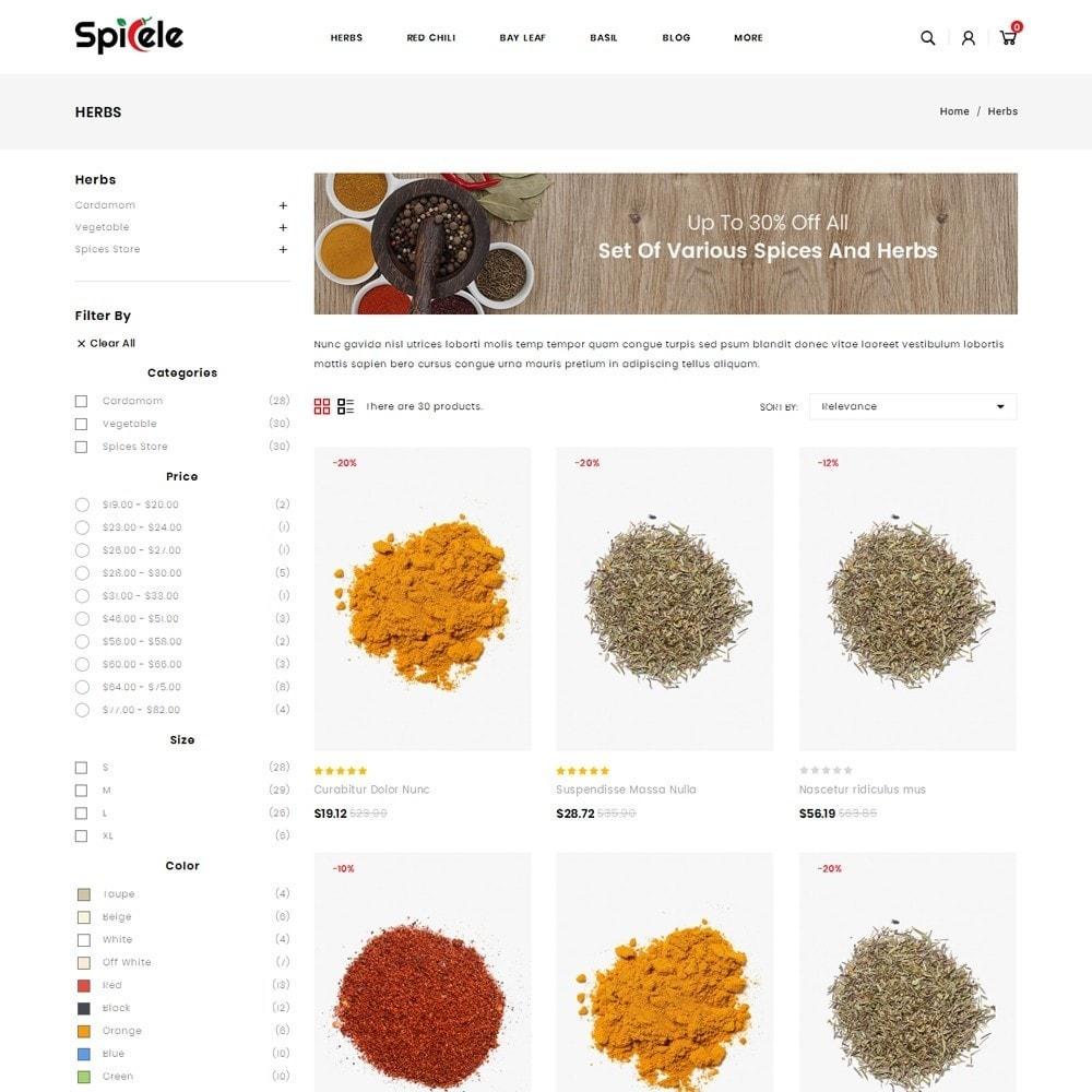theme - Продовольствие и рестораны - Spicele - Grocery store - 3