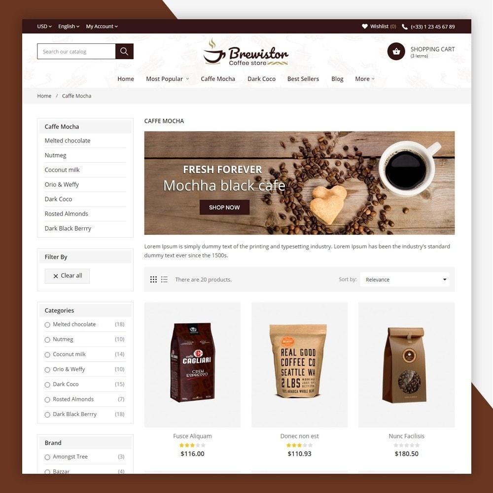 theme - Alimentos & Restaurantes - Brewistor - Coffee Store - 5
