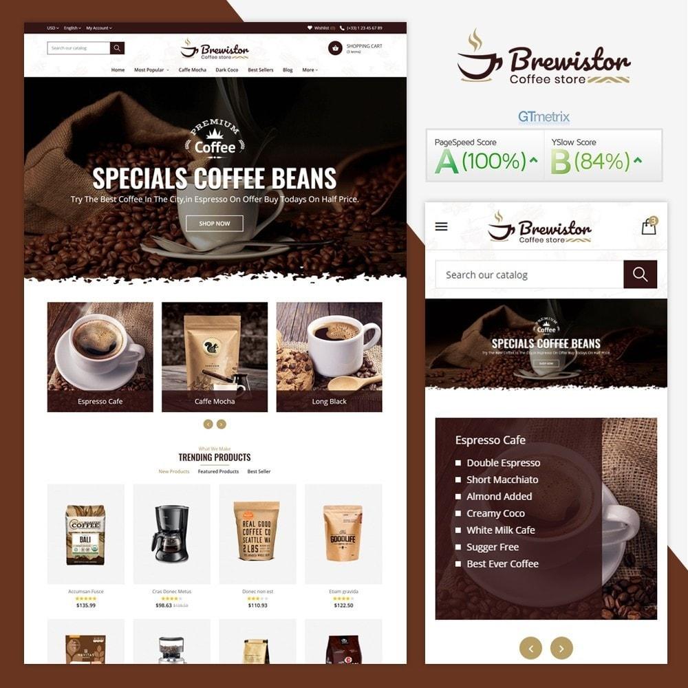 theme - Alimentation & Restauration - Brewistor - Coffee Store - 2