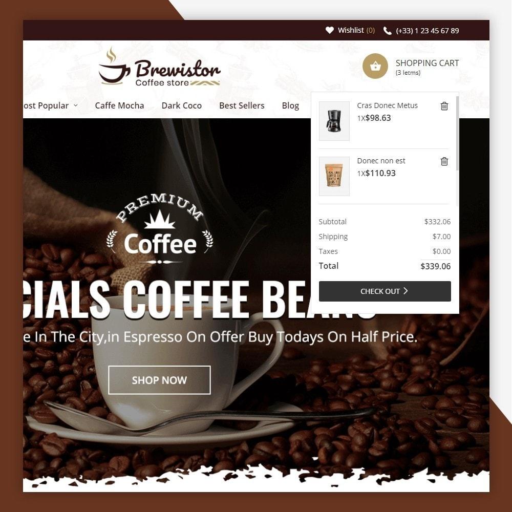 theme - Alimentation & Restauration - Brewistor - Coffee Store - 5