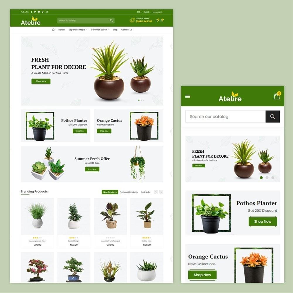theme - Casa & Jardins - Atelier Plant Nursery & Garden Store - 1
