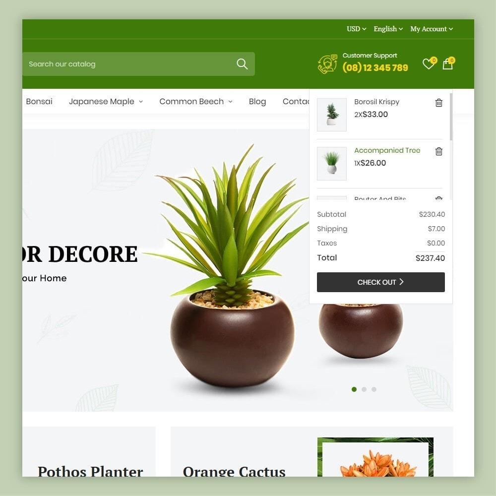 theme - Casa & Jardins - Atelier Plant Nursery & Garden Store - 3