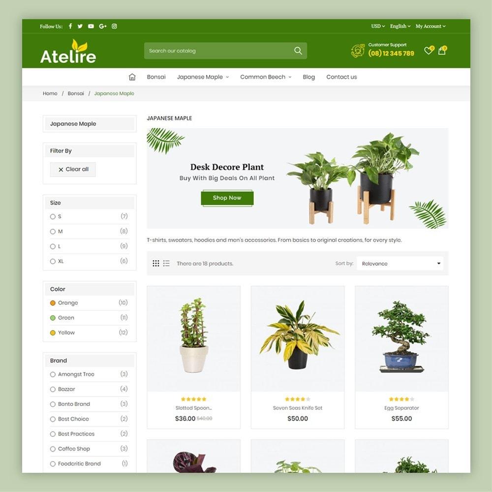 theme - Maison & Jardin - Atelier Plant Nursery & Garden Store - 6