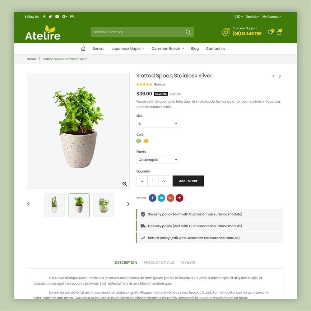 theme - Maison & Jardin - Atelier Plant Nursery & Garden Store - 8