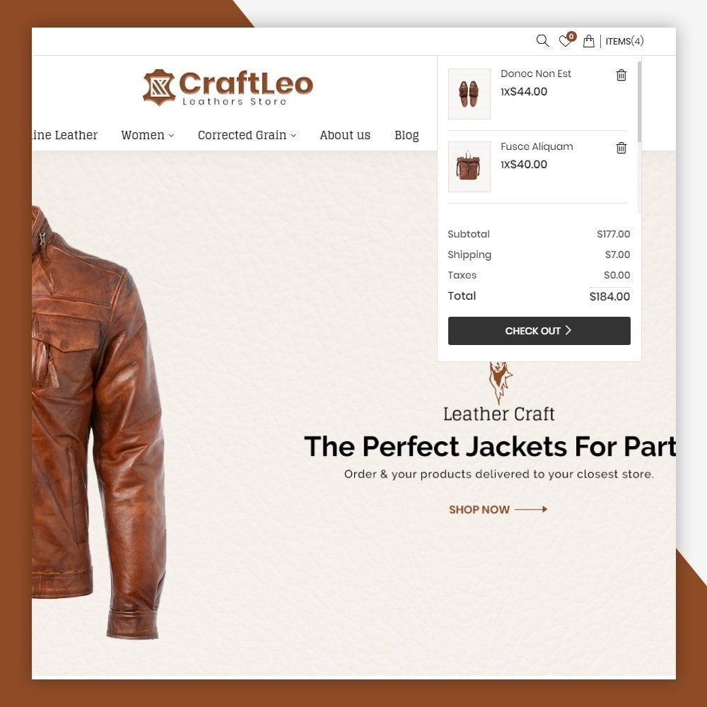 theme - Mode & Chaussures - CraftLeo - Leather Fashions Store - 5