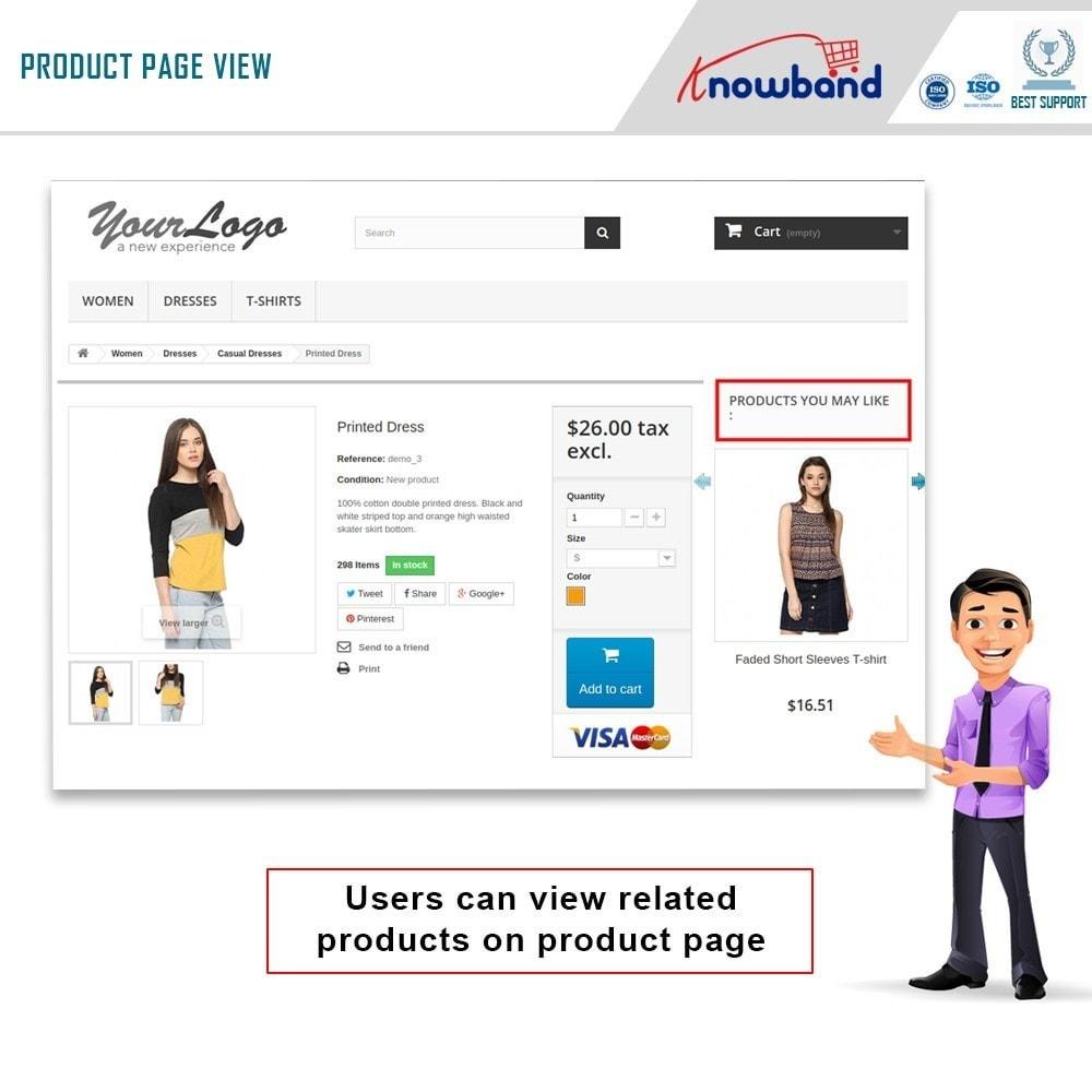 module - Cross-Selling & Produktbundles - Knowband - Automatisch verwandte Produkte - 1