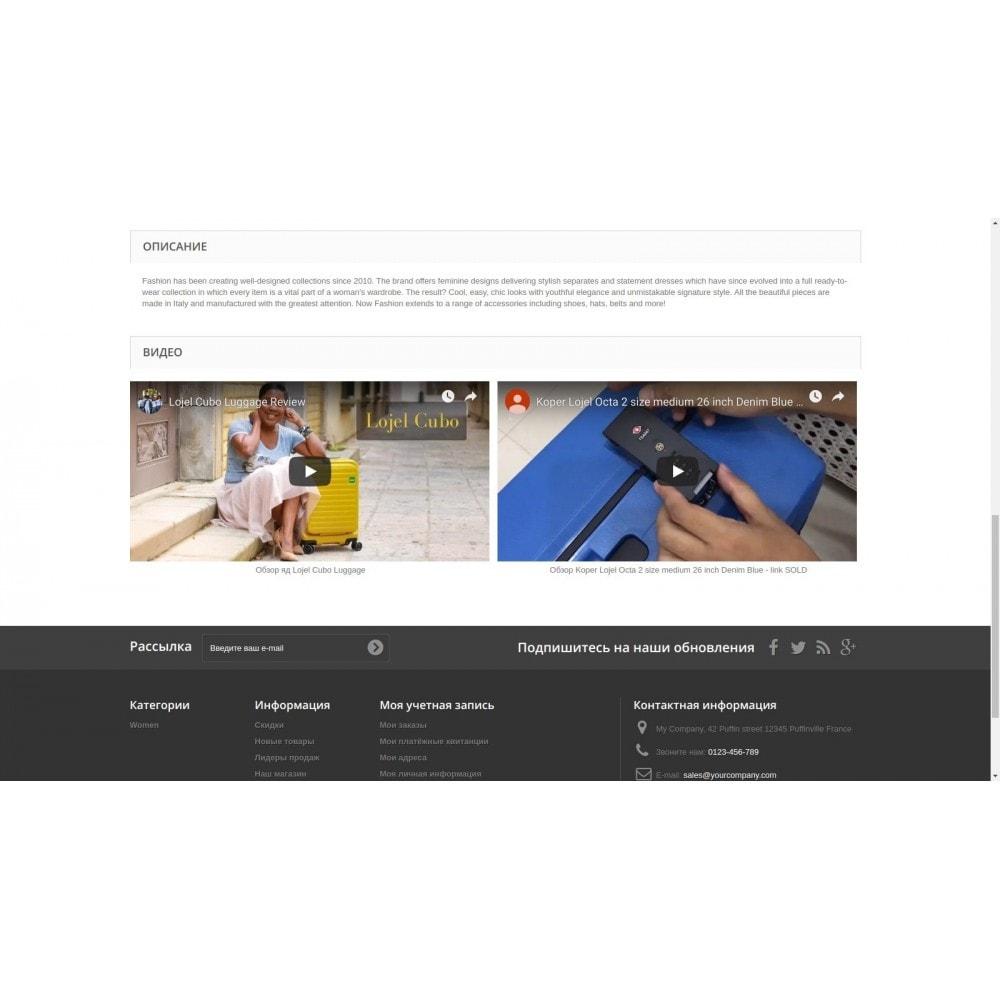 module - Естественная поисковая оптимизация - DZ страницы с видео товара для seo - 1