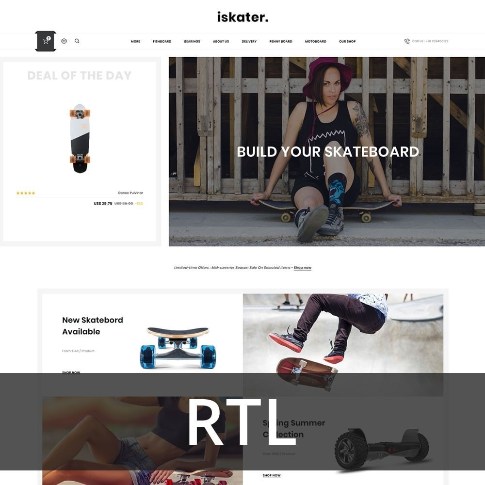 theme - Sports, Activities & Travel - Iskater - The Sport Shop - 3
