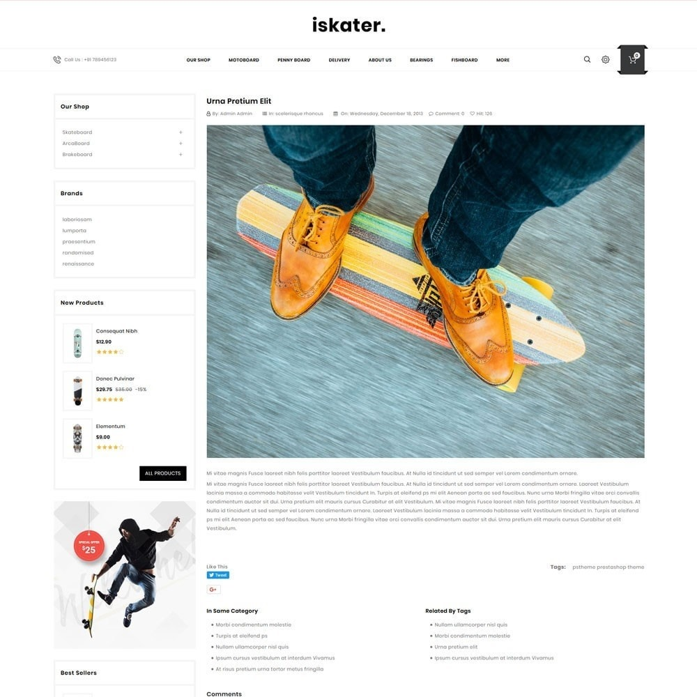 theme - Sports, Activities & Travel - Iskater - The Sport Shop - 7