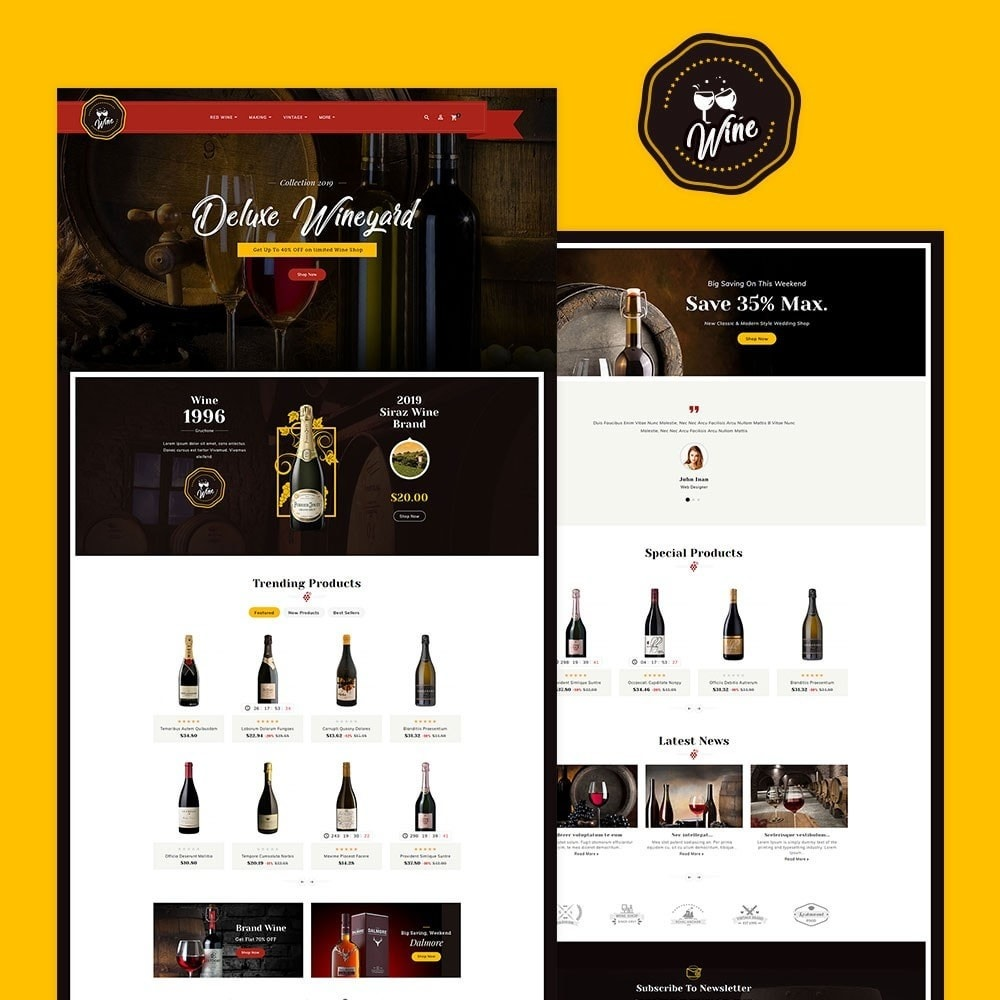 theme - Getränke & Tabak - Wineyard & Drinks - 2