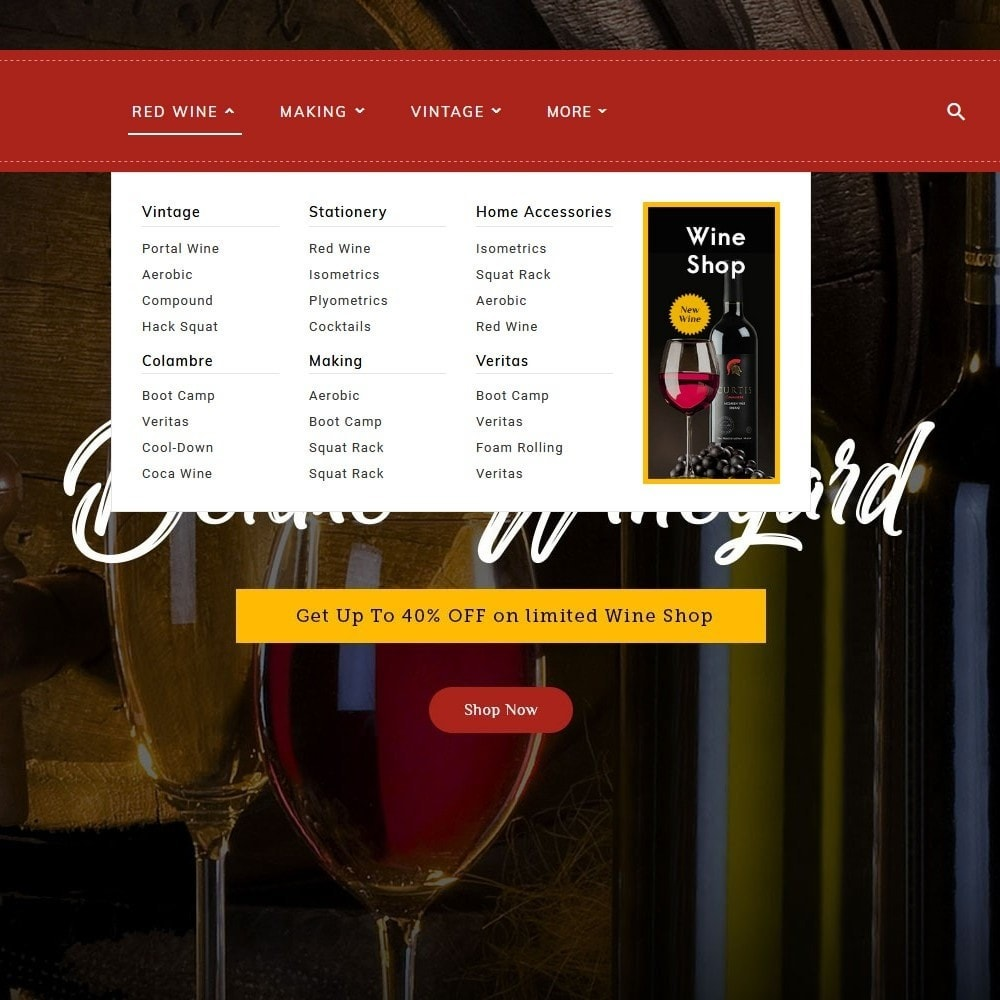 theme - Getränke & Tabak - Wineyard & Drinks - 9