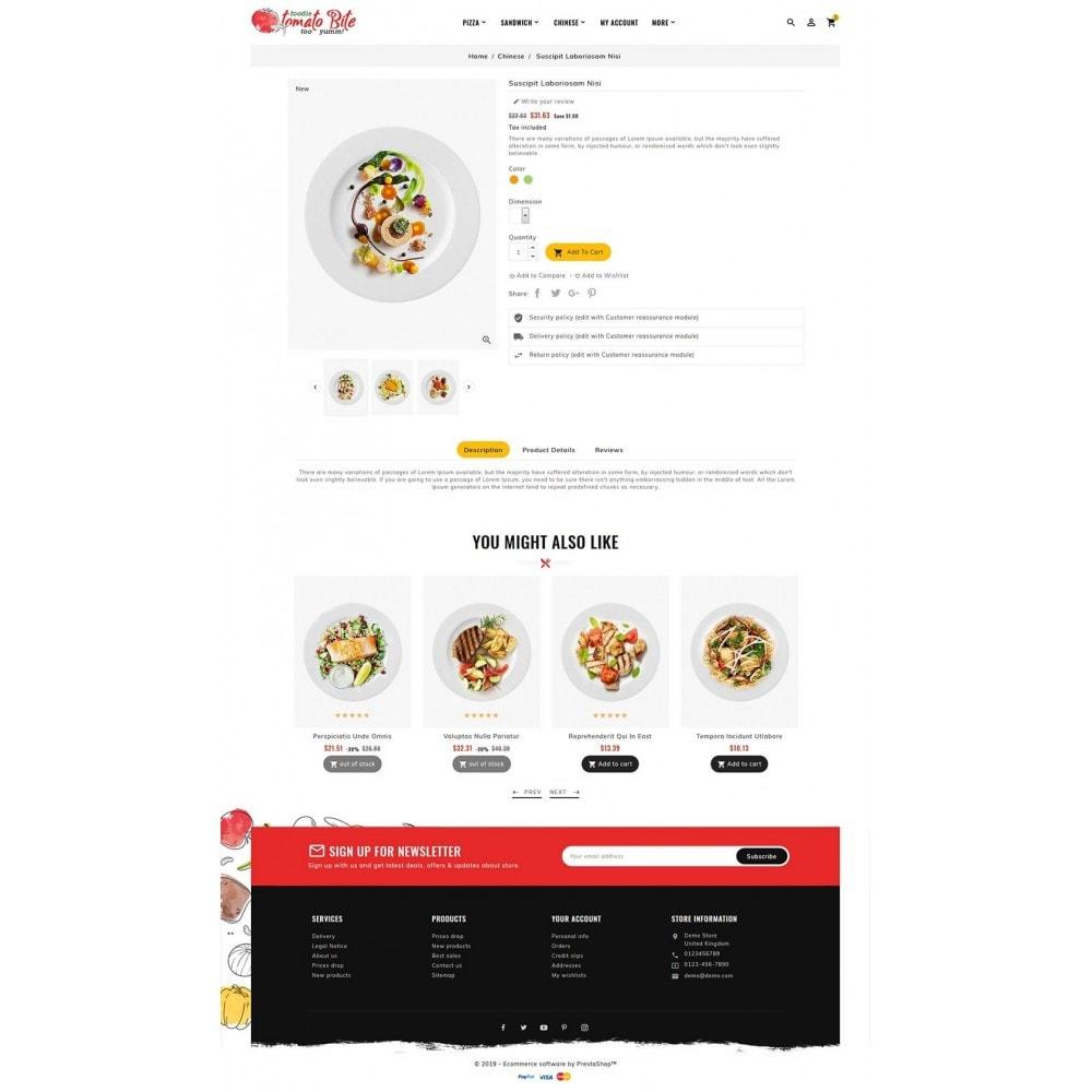 theme - Żywność & Restauracje - Tomato Bite - Delicious Food - 5