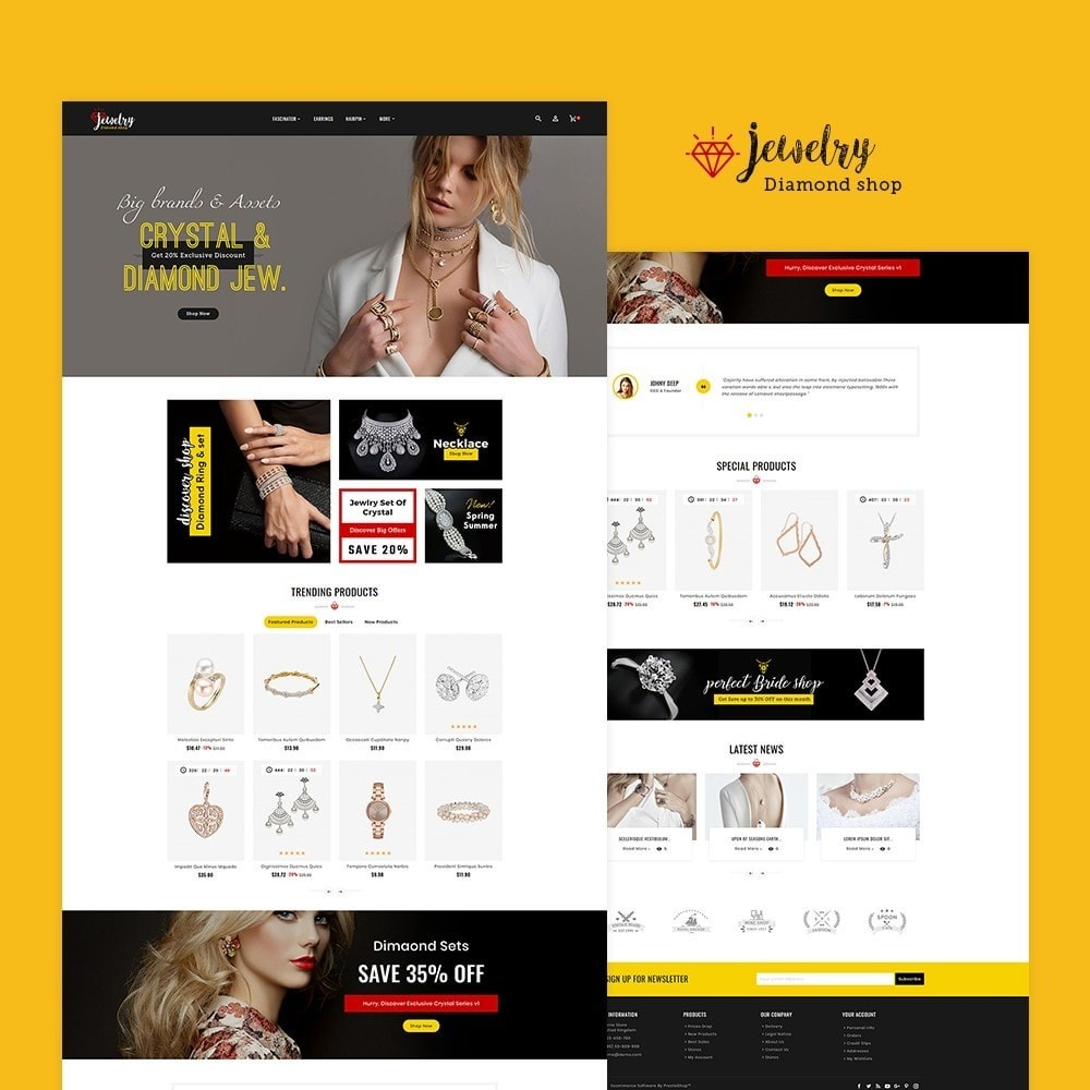 theme - Joyas y Accesorios - Jewelry Imitation - Diamond Shop - 2