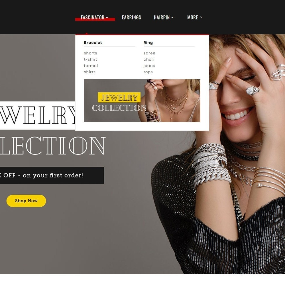 theme - Ювелирные изделия и Аксессуары - Jewelry Imitation - Diamond Shop - 9