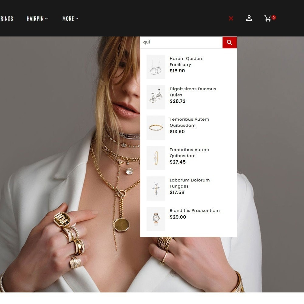 theme - Ювелирные изделия и Аксессуары - Jewelry Imitation - Diamond Shop - 10