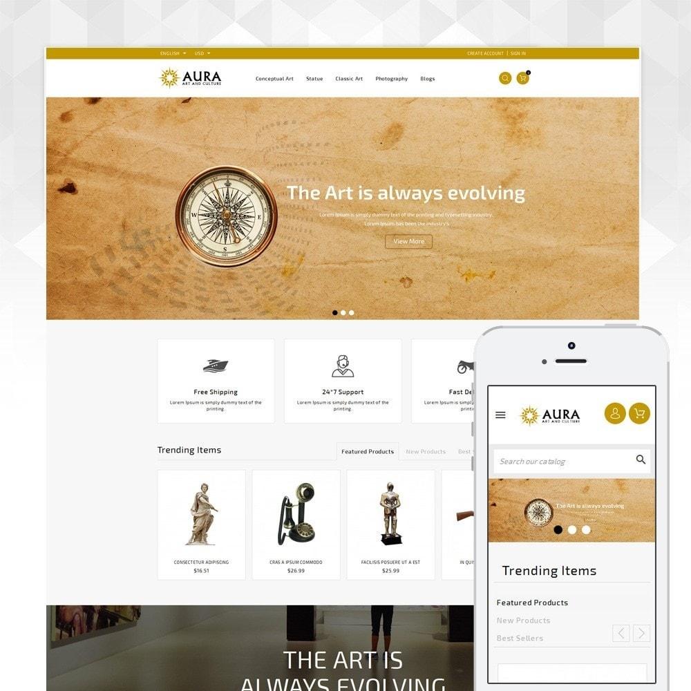 theme - Arte & Cultura - Aura - Art & Culture Store - 1