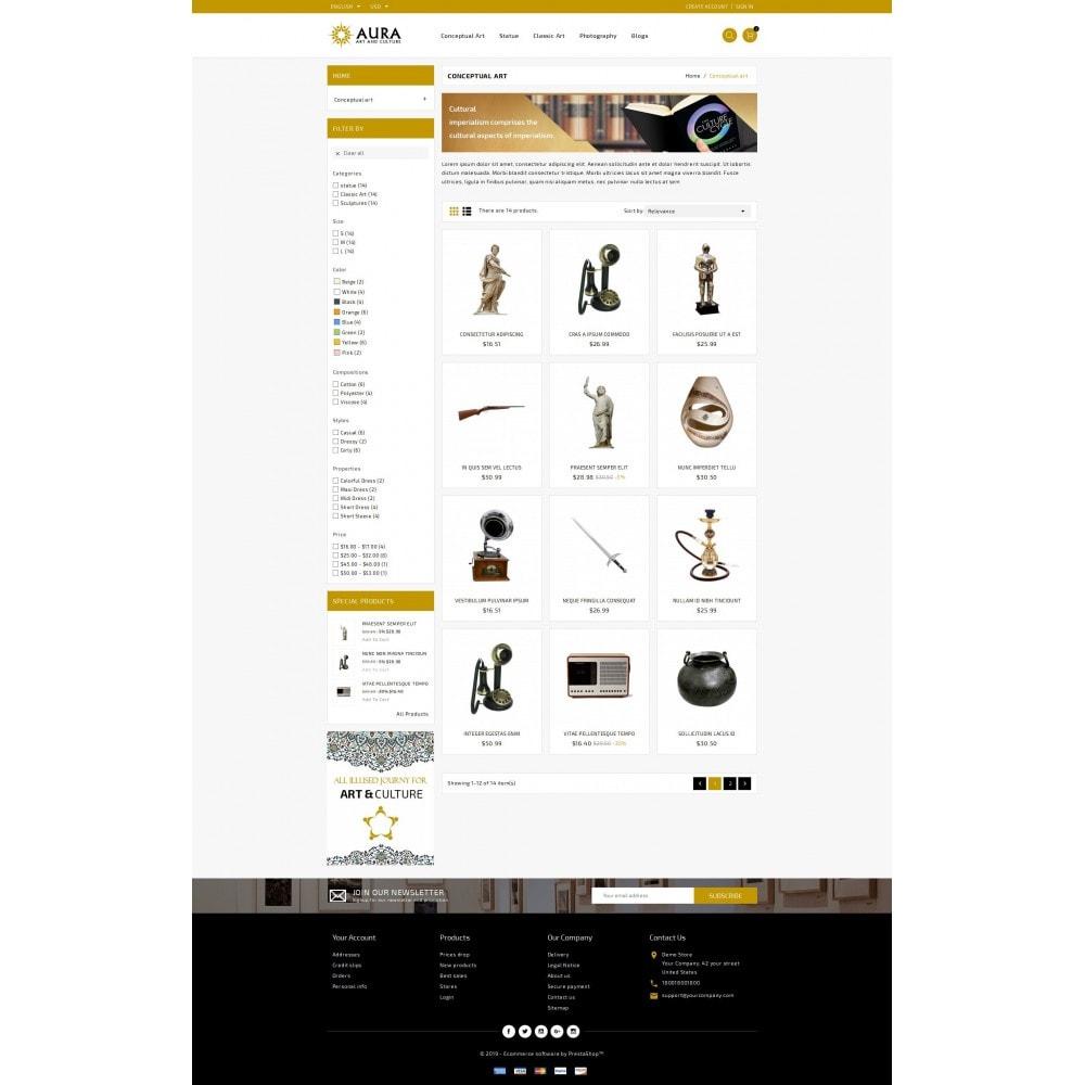 theme - Arte & Cultura - Aura - Art & Culture Store - 3