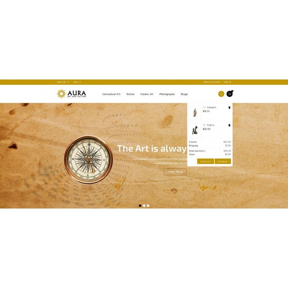 theme - Arte y Cultura - Aura - Art & Culture Store - 8
