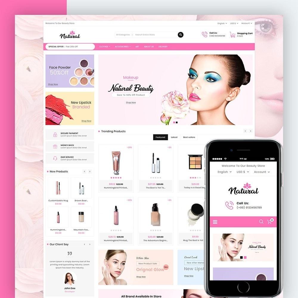 theme - Health & Beauty - Natural Cosmetics - 1
