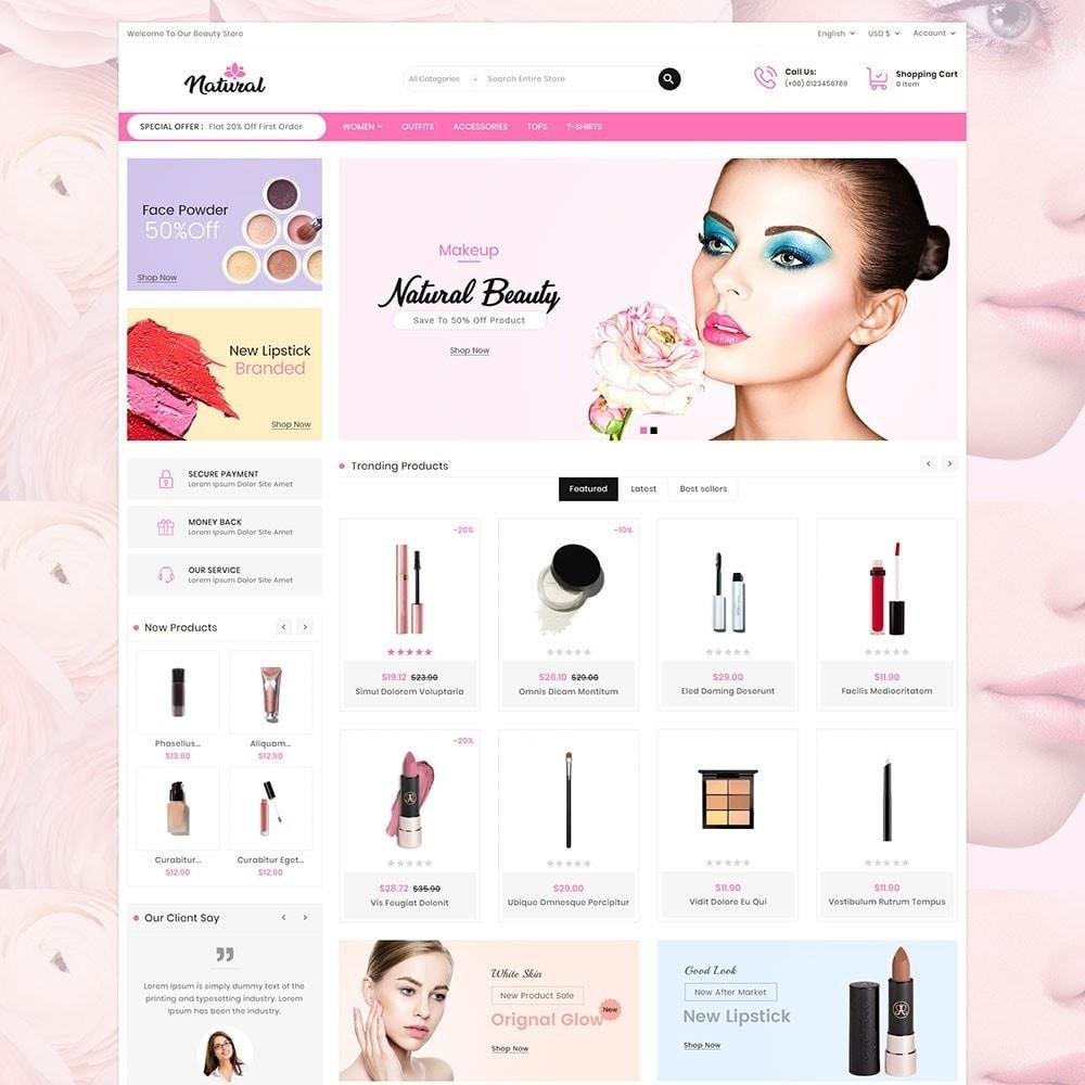 theme - Health & Beauty - Natural Cosmetics - 2