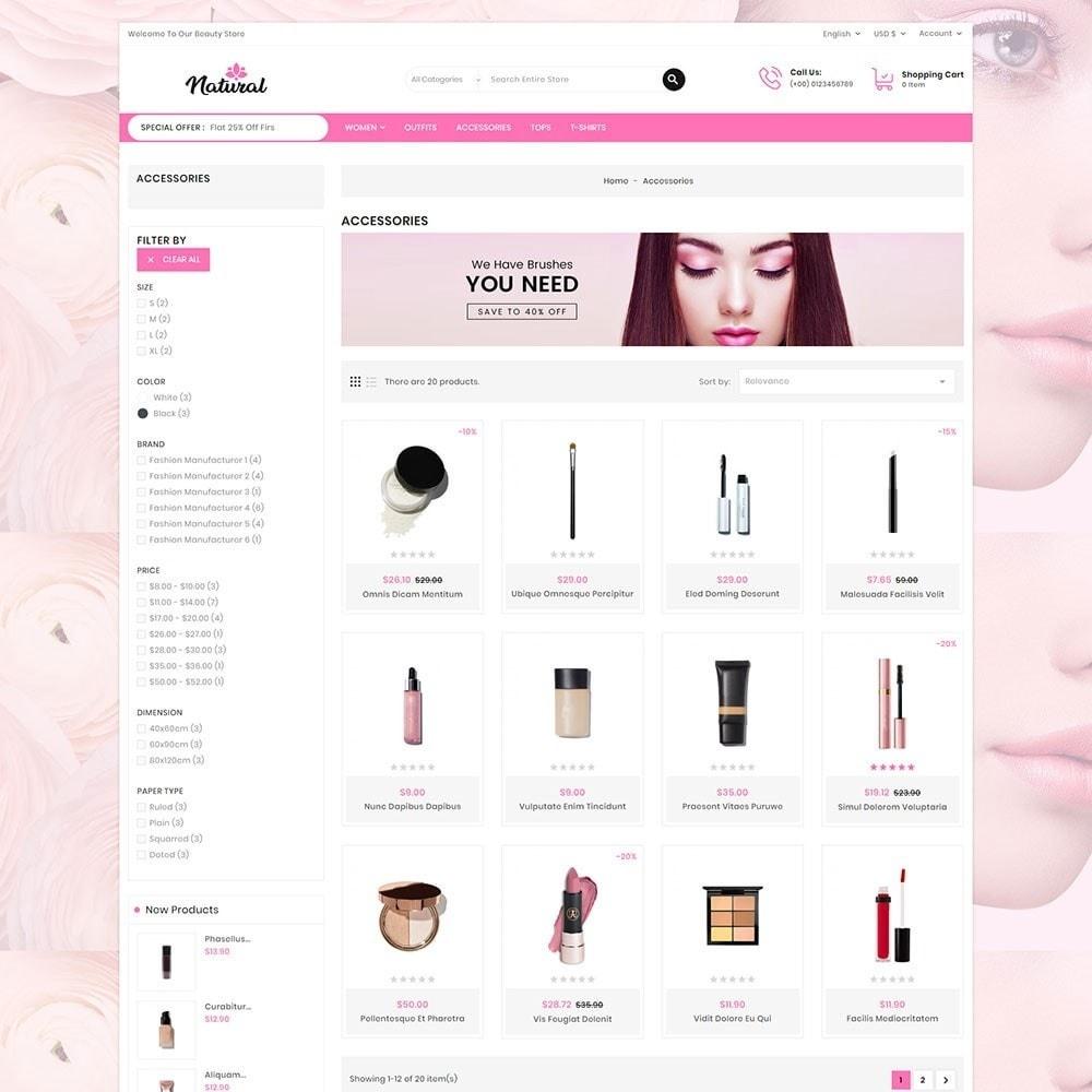 theme - Health & Beauty - Natural Cosmetics - 4