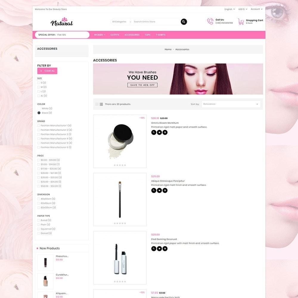 theme - Health & Beauty - Natural Cosmetics - 5