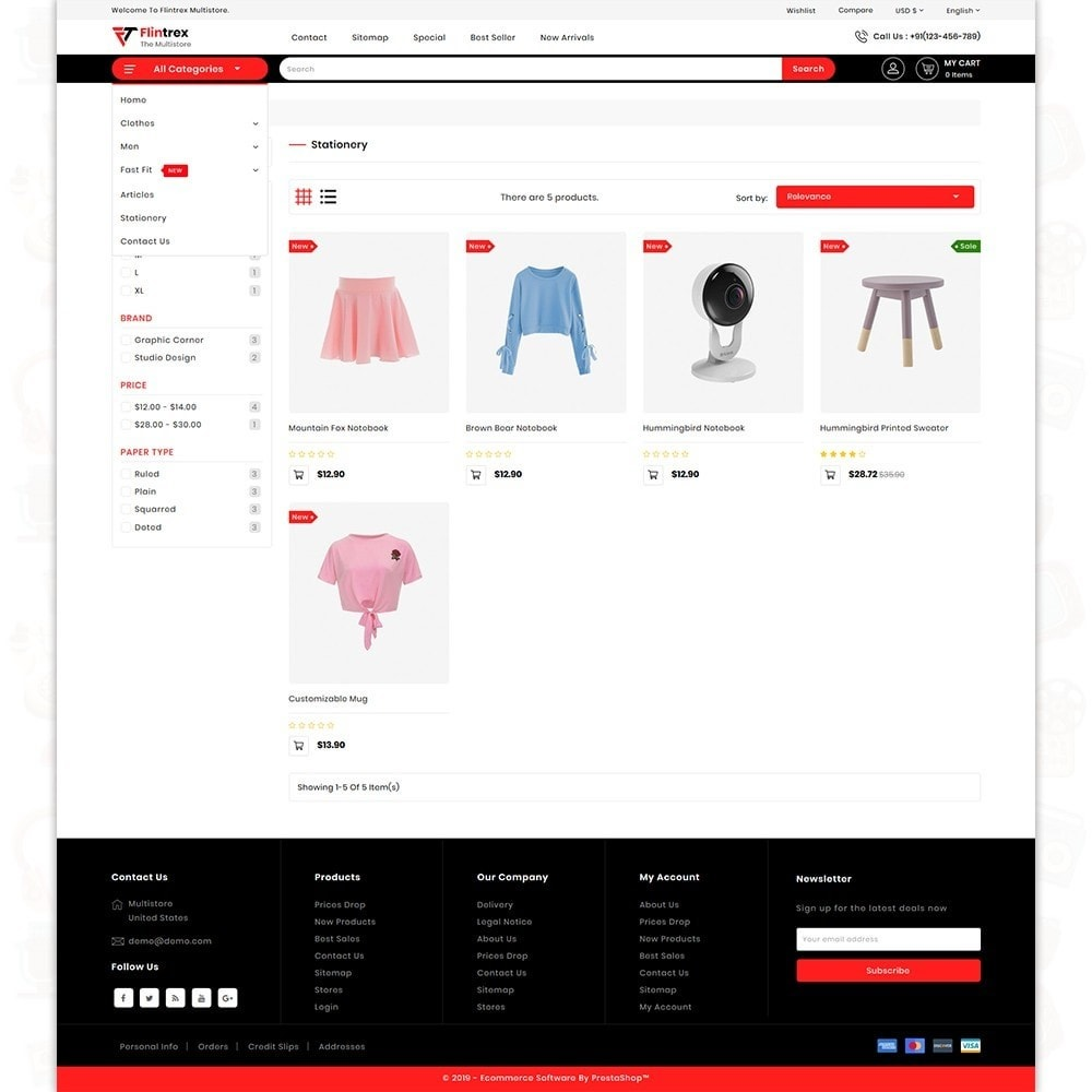 theme - Elettronica & High Tech - Flinterex - The MultiStore Theme - 3
