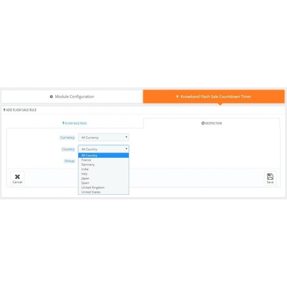 module - Ventes Flash & Ventes Privées - Knowband - Compte à rebours Flash Sale - 9
