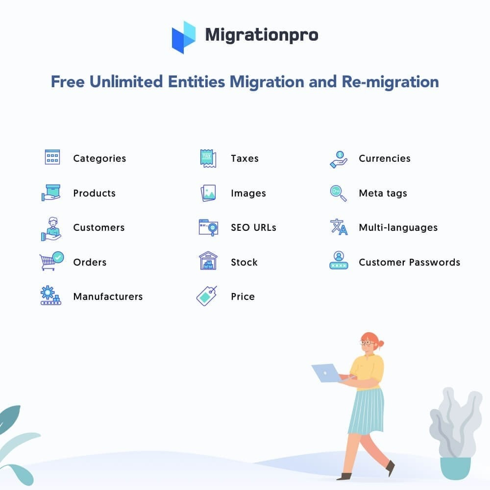 module - Data migration & Backup - MigrationPro: Zen Cart to PrestaShop Migrating Tool - 2