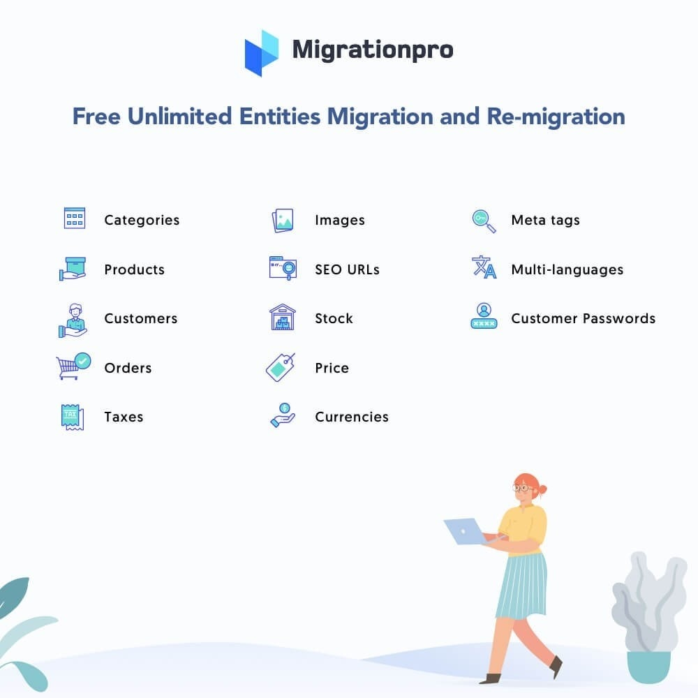 module - Datenmigration & Backup - MigrationPro: HikaShop to PrestaShop Migration tool - 2