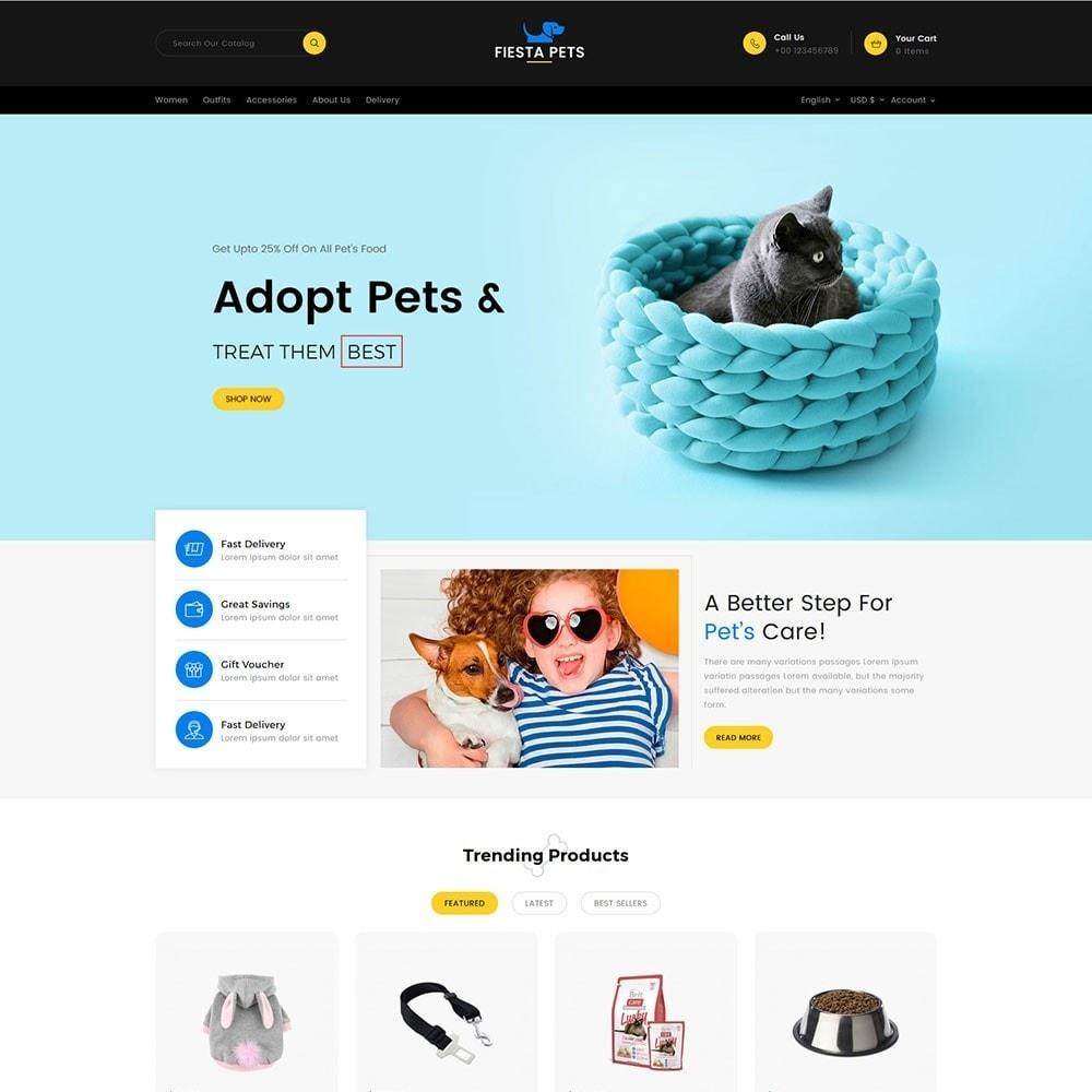 theme - Животные и домашние питомцы - Fiesta Pets Store - 2