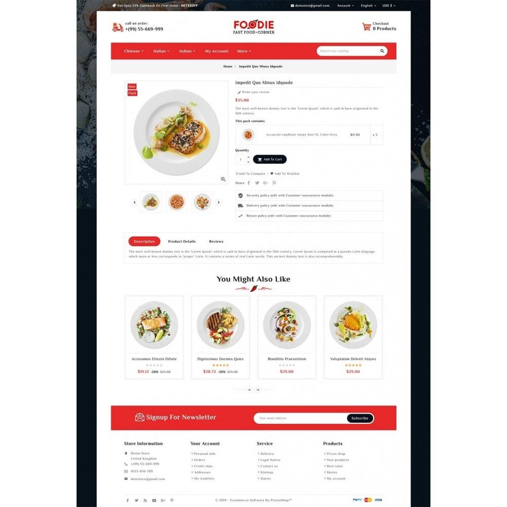 theme - Food & Restaurant - Foodie - Fast Food Corner - 5