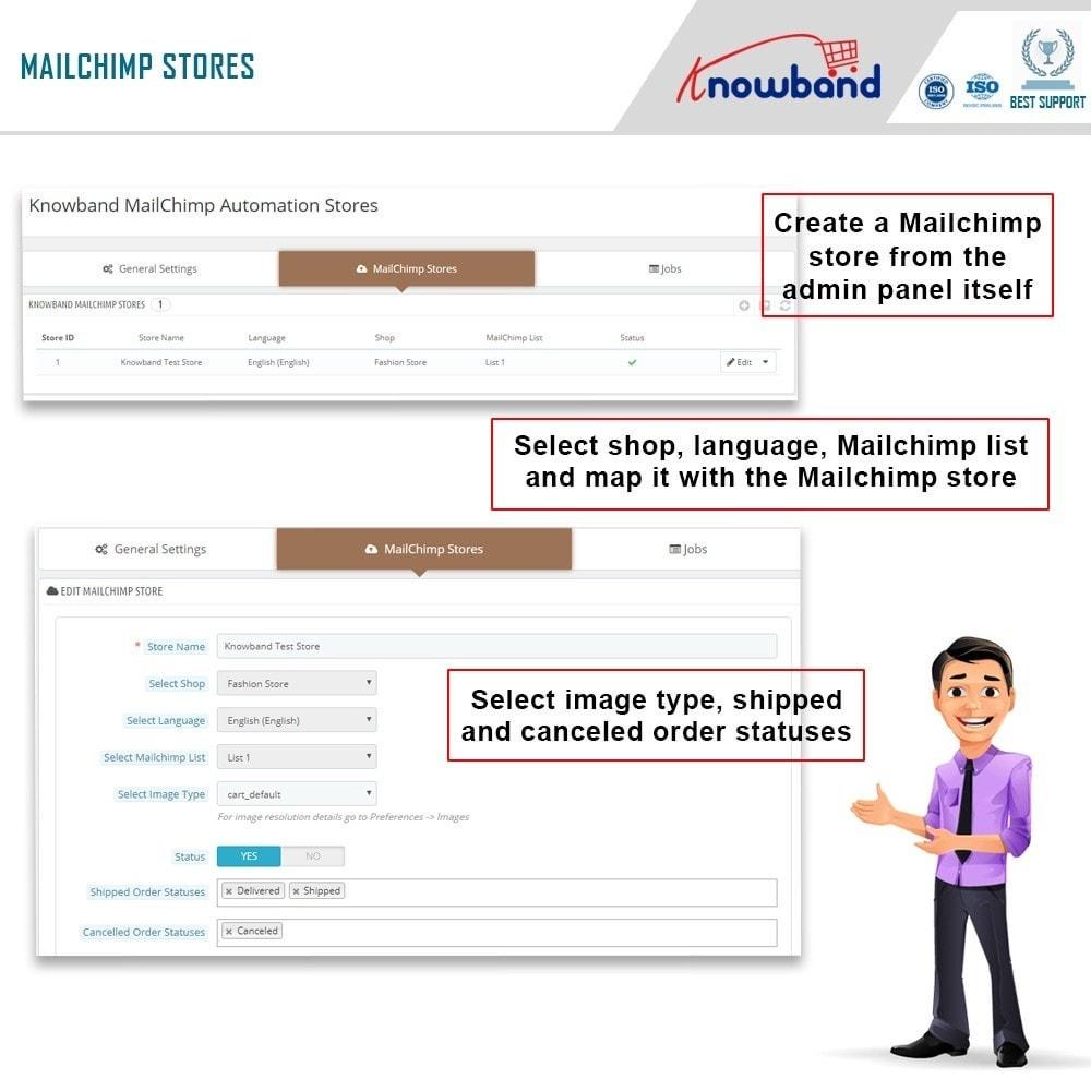 module - Boletim informativo & SMS - Knowband - Automação Mailchimp - 3