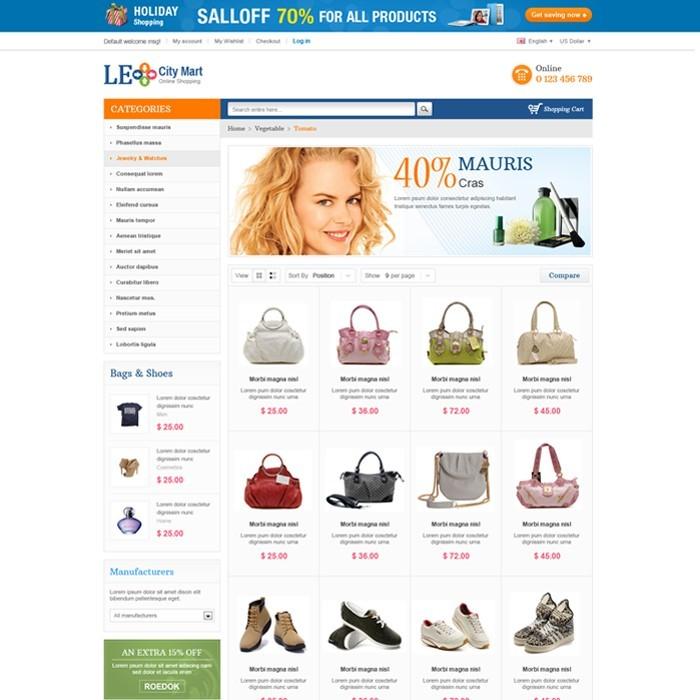 theme - Мода и обувь - Leo City Mart - 2