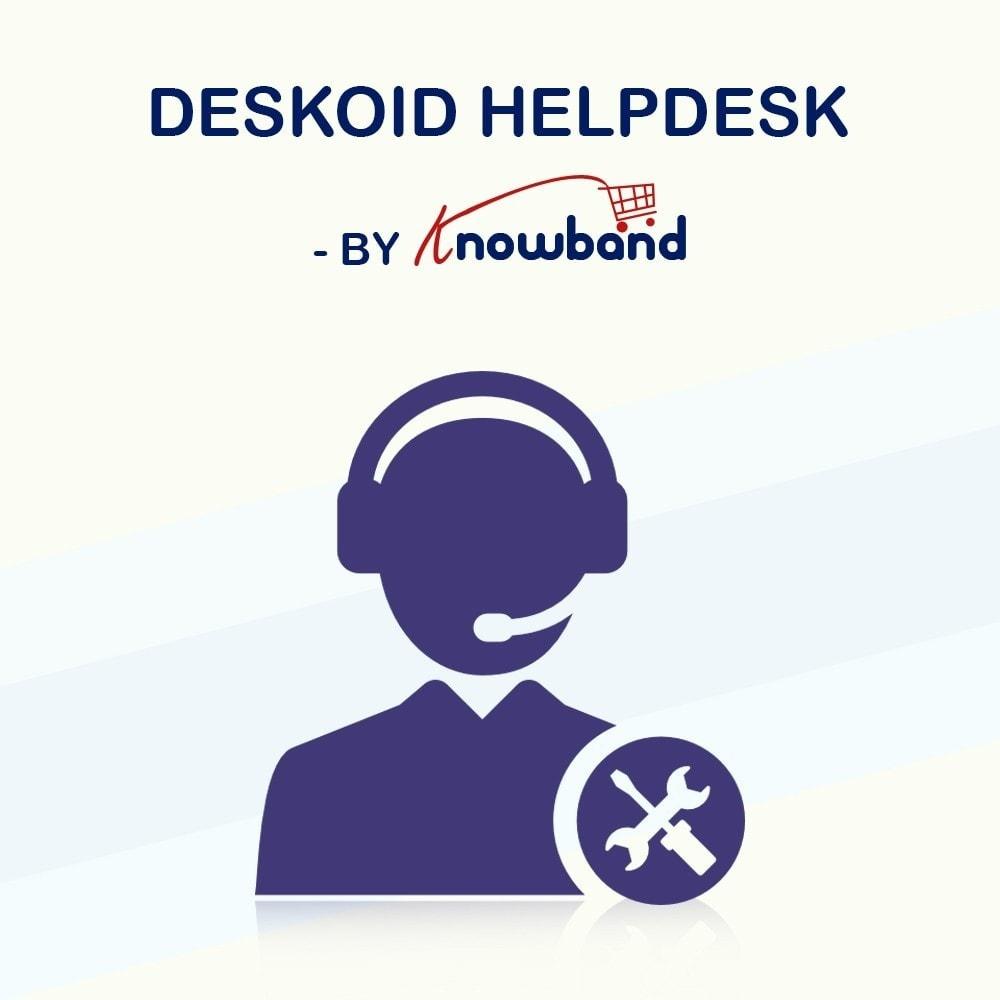 module - Kundenservice - Deskoid Helpdesk - 1