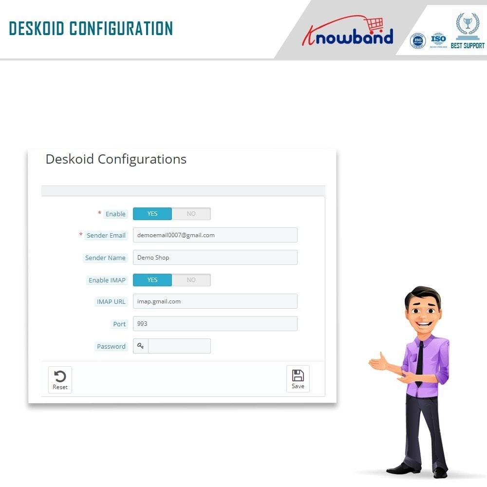 module - Kundenservice - Deskoid Helpdesk - 5