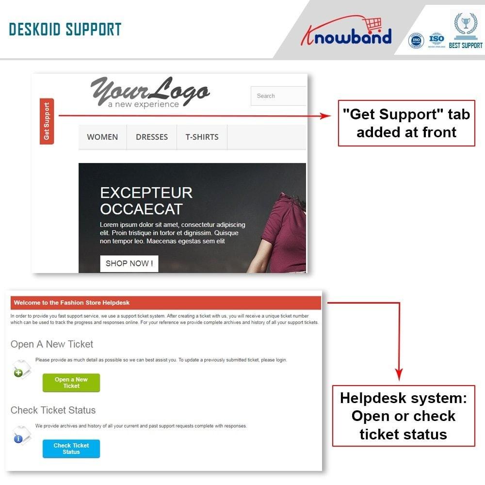 module - Servizio post-vendita - Knowband - Deskoid Helpdesk - 7
