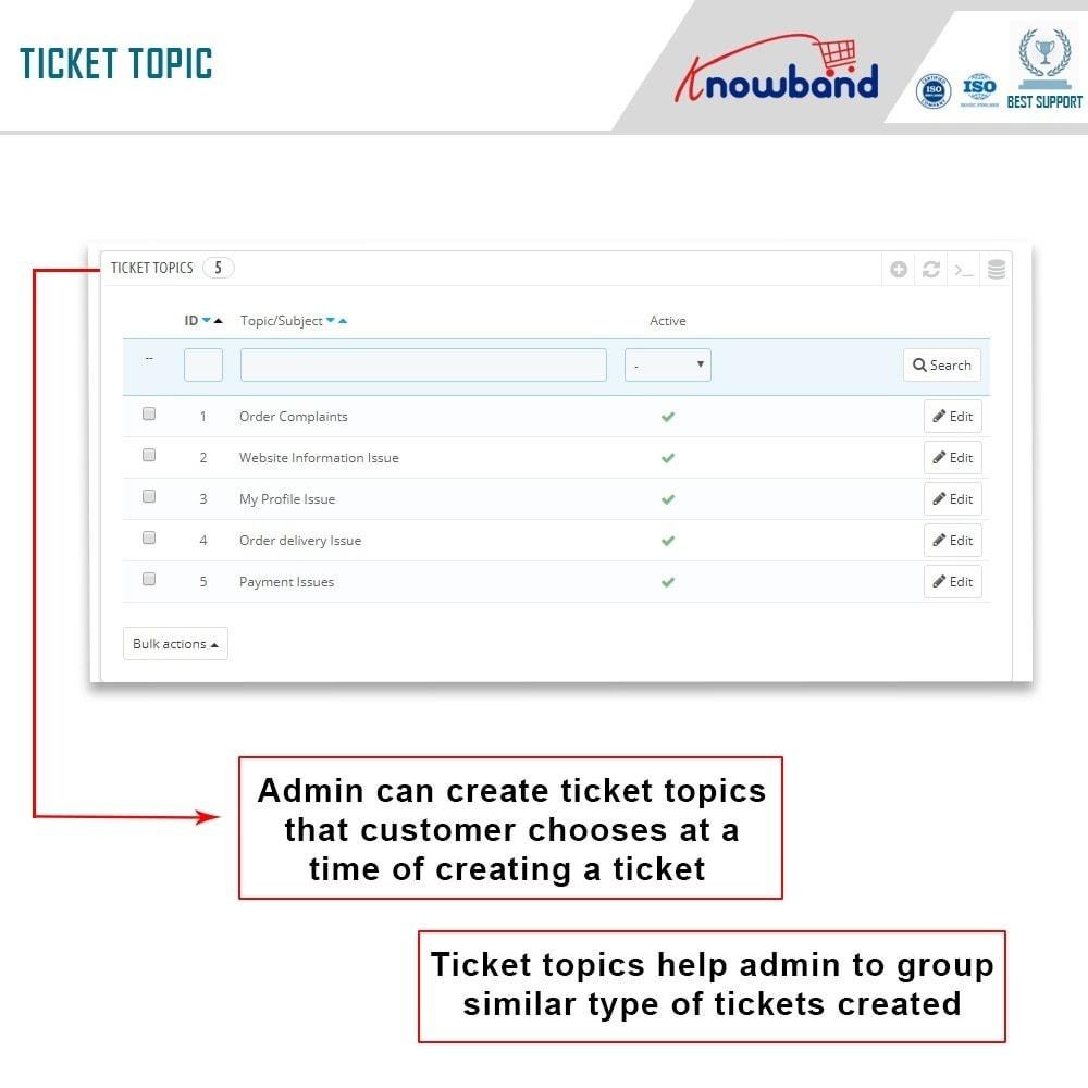 module - Servizio post-vendita - Knowband - Deskoid Helpdesk - 8