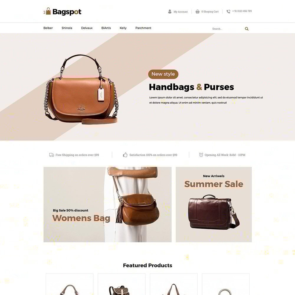 theme - Mode & Chaussures - Bagspot - Magasin de mode Sac - 3