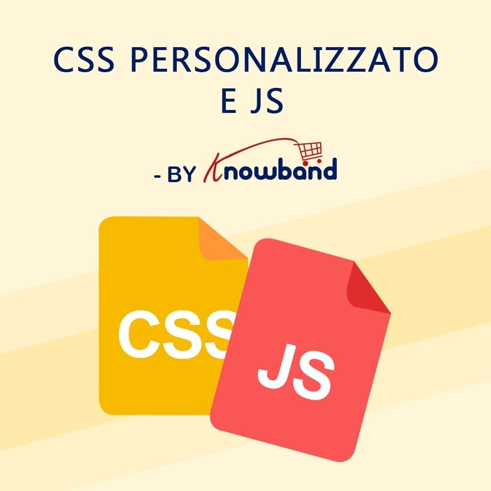 module - Personalizzazione pagine - Knowband - CSS e JS personalizzati - 1