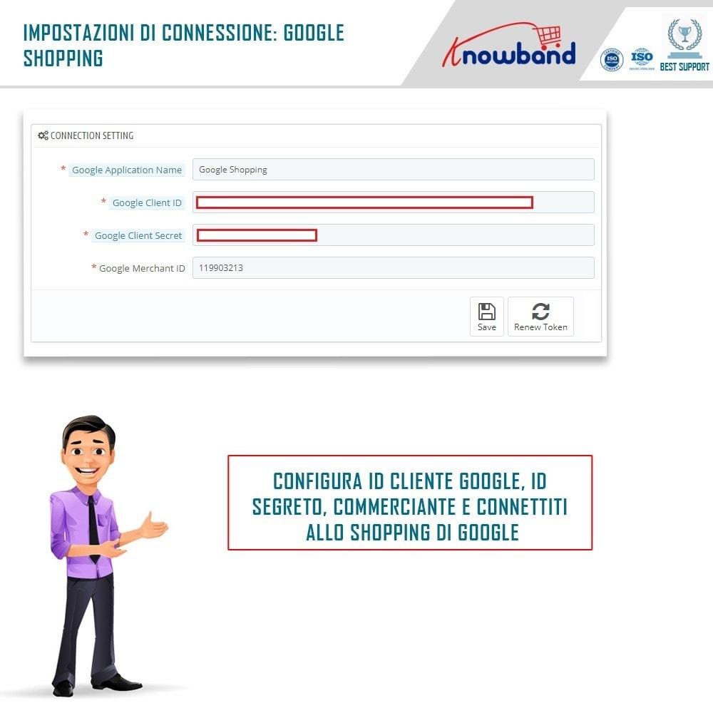module - Comparatori di prezzi - Google Shopping (Google Merchant Centre) - 1