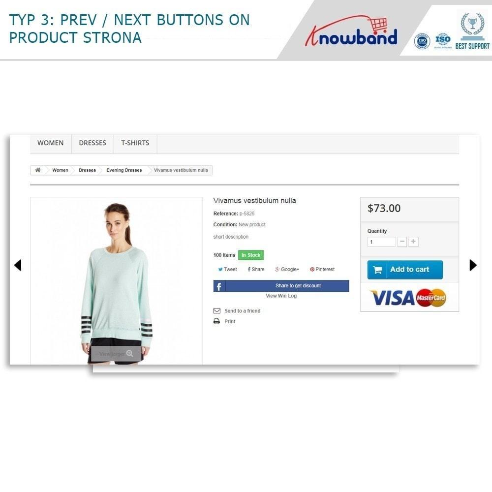 module - Narzędzia nawigacji - Previous Next buttons on product page - 2