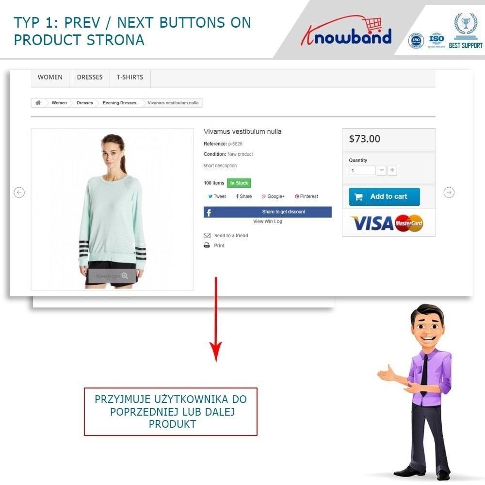 module - Narzędzia nawigacji - Previous Next buttons on product page - 3