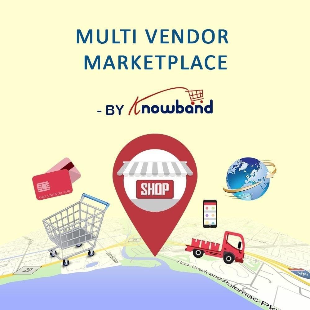 module - Stworzenia platformy handlowej - Knowband - Multi Vendor Marketplace - 1